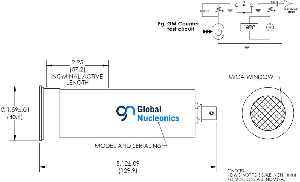 GN210-BNC Drawing