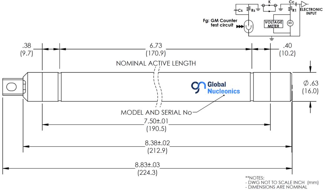 GNP358-7RH Drawing
